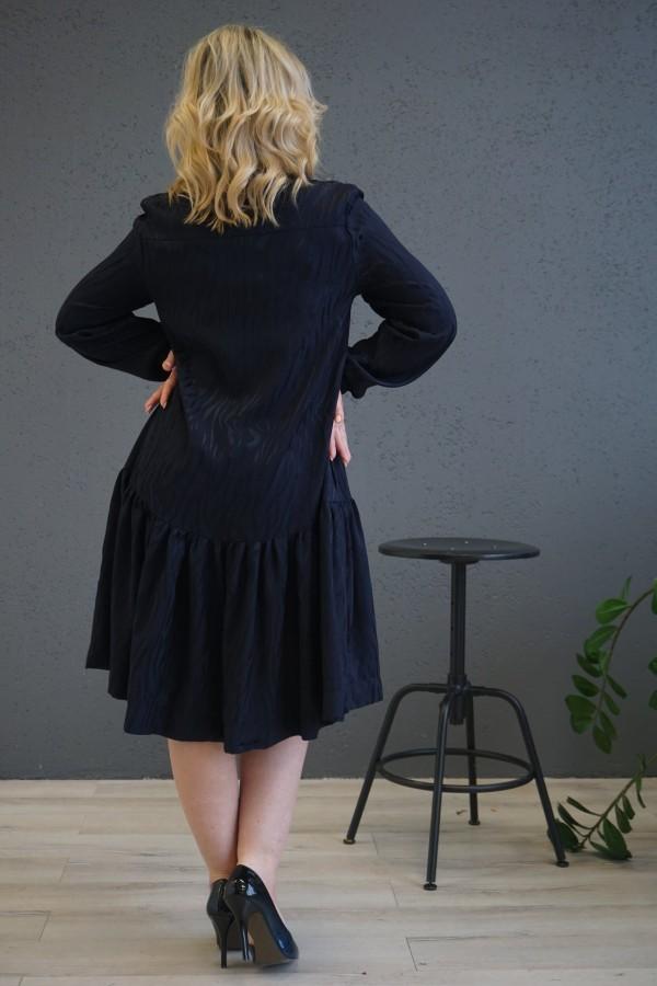 """Tamsiai mėlyna suknelė """"Klasika"""""""