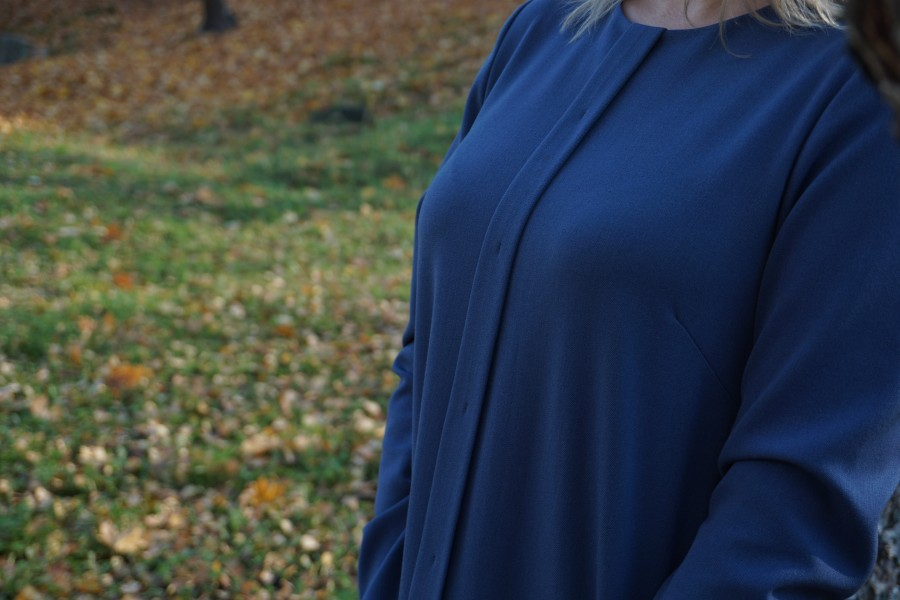 """Džinso mėlynumo suknelė  """"Izabelė"""""""