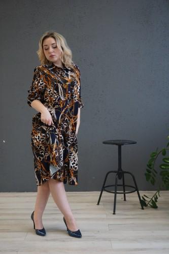 """Viskozinė suknelė  ''Elegancija"""""""